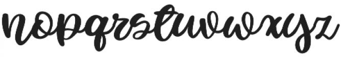 Fowler Regular otf (400) Font LOWERCASE
