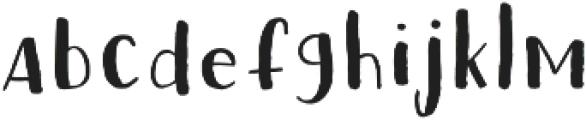 Fox Cat otf (400) Font LOWERCASE