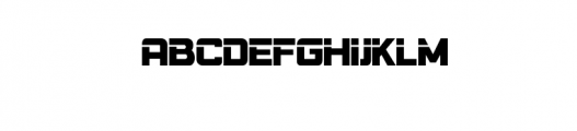 FORCES.otf Font UPPERCASE