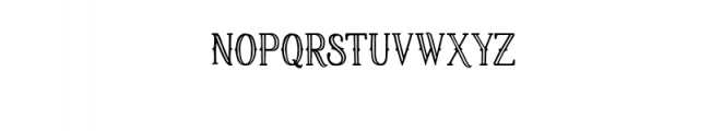 Fortuin Typeface Font UPPERCASE