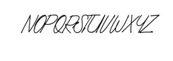 Foundart.ttf Font UPPERCASE