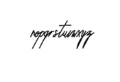 Foundart.ttf Font LOWERCASE