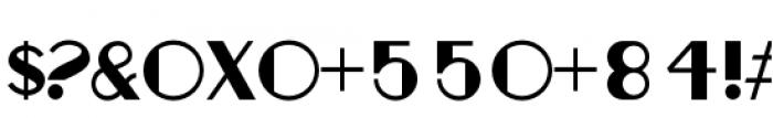 Fondarella Regular Font OTHER CHARS