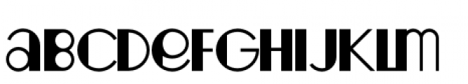 Fondarella Regular Font LOWERCASE