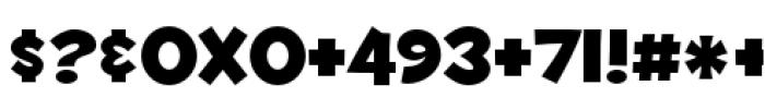 Fontdinerdotcom Huggable Font OTHER CHARS