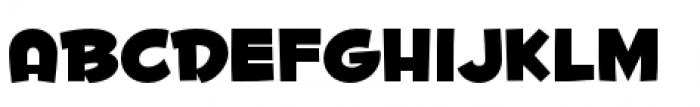 Fontdinerdotcom Huggable Font UPPERCASE