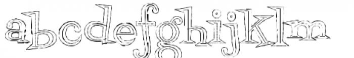 Fontdinerdotcom Jazz Light Font LOWERCASE