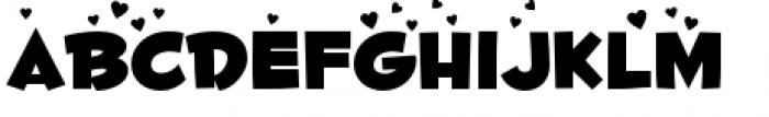 Fontdinerdotcom Luvable Font LOWERCASE