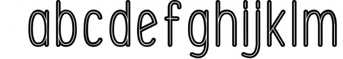 Font Bundle 5 Exclusive Fonts! 1 Font LOWERCASE