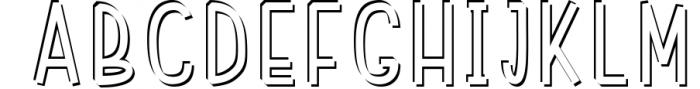 Font Bundle 5 Exclusive Fonts! 4 Font UPPERCASE