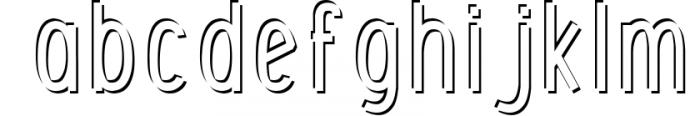 Font Bundle 5 Exclusive Fonts! 4 Font LOWERCASE