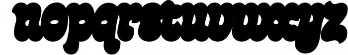 Fonty 1 Font LOWERCASE