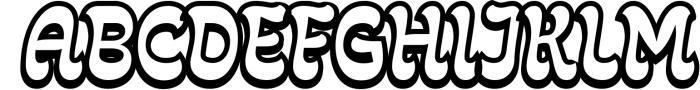 Fonty 2 Font UPPERCASE