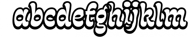 Fonty 2 Font LOWERCASE