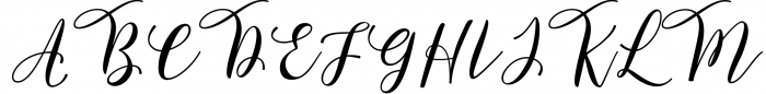 Forestry Script 1 Font UPPERCASE