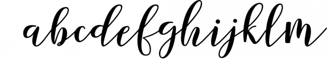 Forestry Script 1 Font LOWERCASE