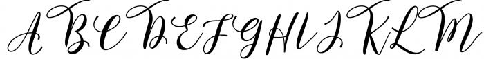 Forestry Script Font UPPERCASE