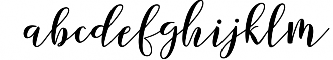 Forestry Script Font LOWERCASE
