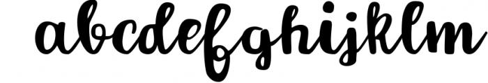 Forever script Font LOWERCASE