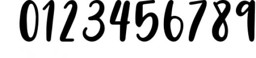 Four Hand Lettered Fonts Bundle by Jordyn Alison Designs 1 Font OTHER CHARS