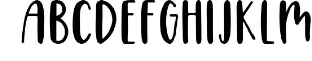 Four Hand Lettered Fonts Bundle by Jordyn Alison Designs 1 Font UPPERCASE