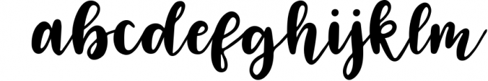 Four Hand Lettered Fonts Bundle by Jordyn Alison Designs 3 Font LOWERCASE