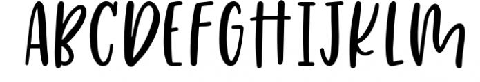 Four Hand Lettered Fonts Bundle by Jordyn Alison Designs Font UPPERCASE