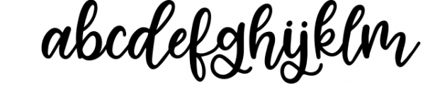 Four Hand Lettered Fonts Bundle by Jordyn Alison Designs Font LOWERCASE