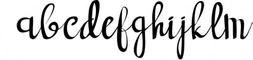 forest dream script handwritten font Font LOWERCASE