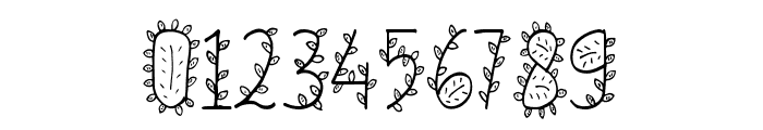 FOLIAGE Font OTHER CHARS
