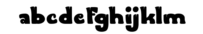 FOREST THING Font LOWERCASE