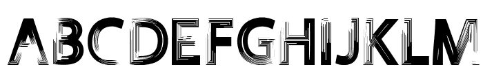 FOREVER 7entin demo Font UPPERCASE