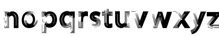 FOREVER 7entin demo Font LOWERCASE