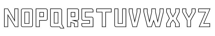 FORNEVER Stroke Font UPPERCASE