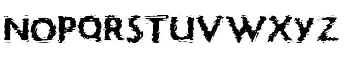 Focal Deviance Font UPPERCASE