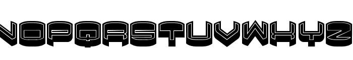 Focused Filled Regular Font UPPERCASE