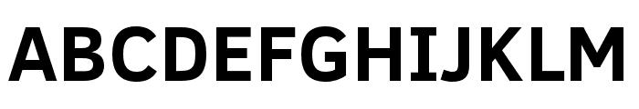 Fog Sans Font UPPERCASE