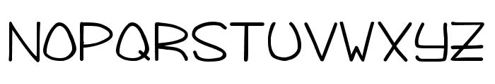 Foggy Bottom Font UPPERCASE