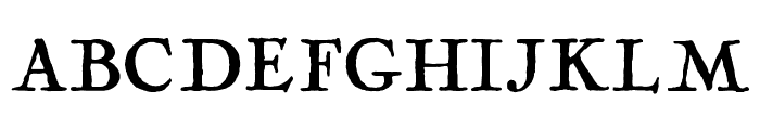 Fogle Hunter Regular Font UPPERCASE