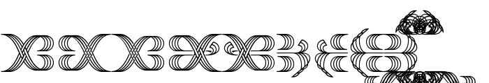Foglihten Fr02 Font UPPERCASE