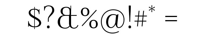 Foglihten Font OTHER CHARS