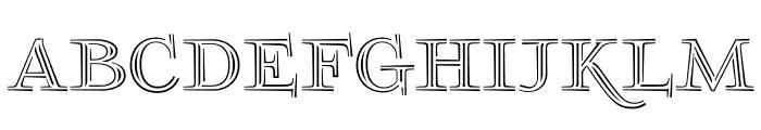 FoglihtenNo03 Font UPPERCASE