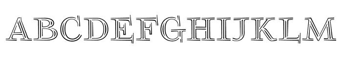 FoglihtenNo03 Font LOWERCASE