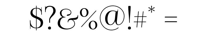 FoglihtenNo07 Font OTHER CHARS