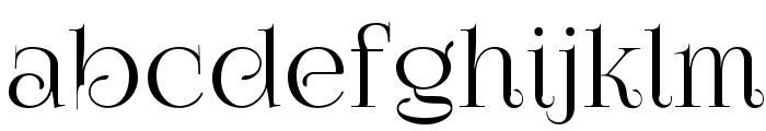 FoglihtenNo07 Font LOWERCASE