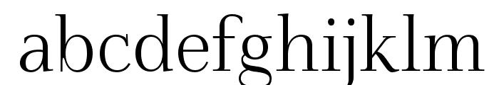 Foglihten Font LOWERCASE