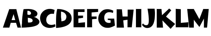 FoliaMix Font UPPERCASE