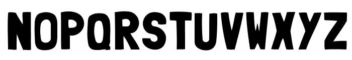 Folk-solid Font UPPERCASE