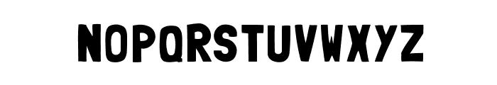 Folk-solid Font LOWERCASE