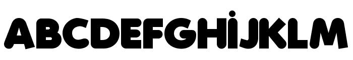 Folks-Heavy Font UPPERCASE